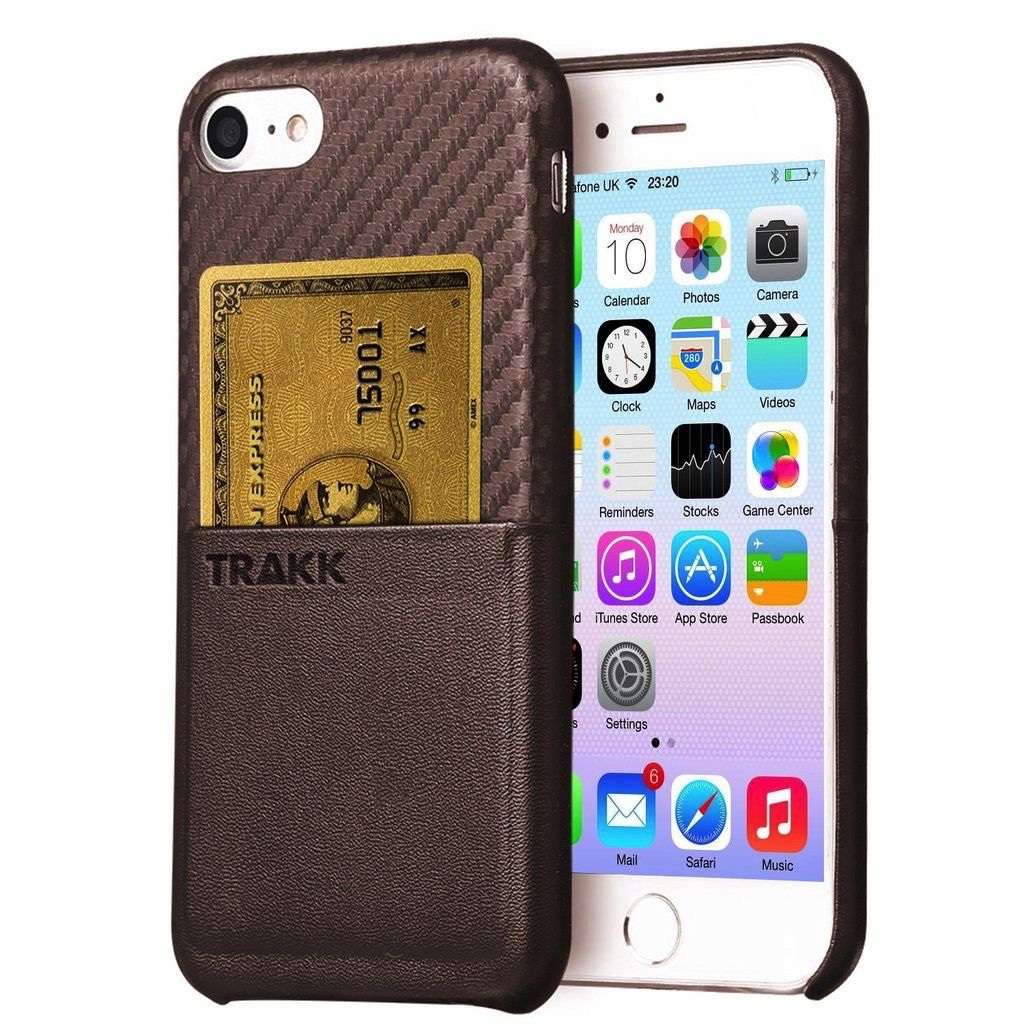 TRAKK TRAKK POCKET Leather Woven Case w/CC Slot