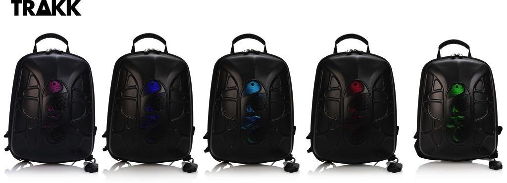 TRAKK TRAKK SHELL Waterproof Multi Function Bluetooth Speaker Backpack