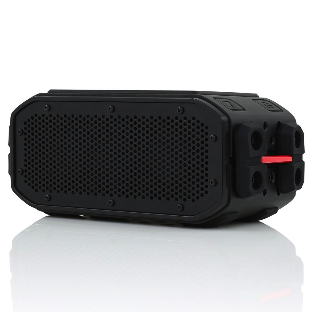 Braven BRV Pro Portable Bluetooth Speaker and Black Solar Panel
