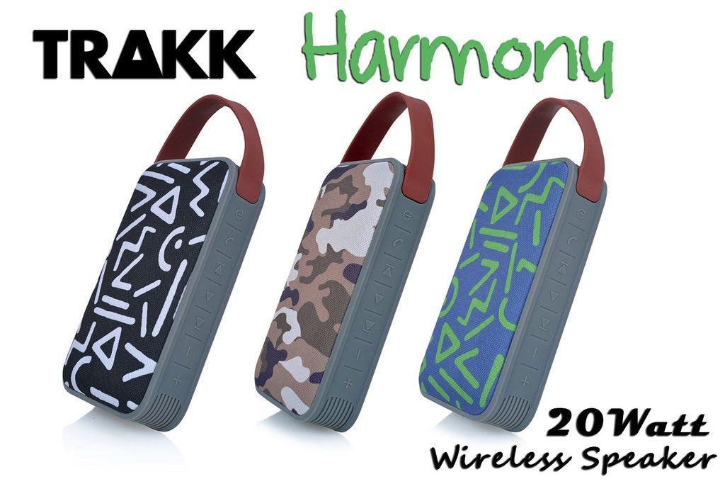 TRAKK TRAKK Harmony 20W Fabric Bluetooth Speaker