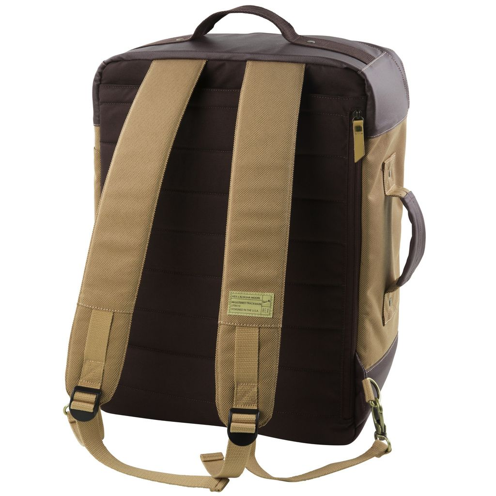HEX HEX Alyasha Travel Backpack, Tan/Brown