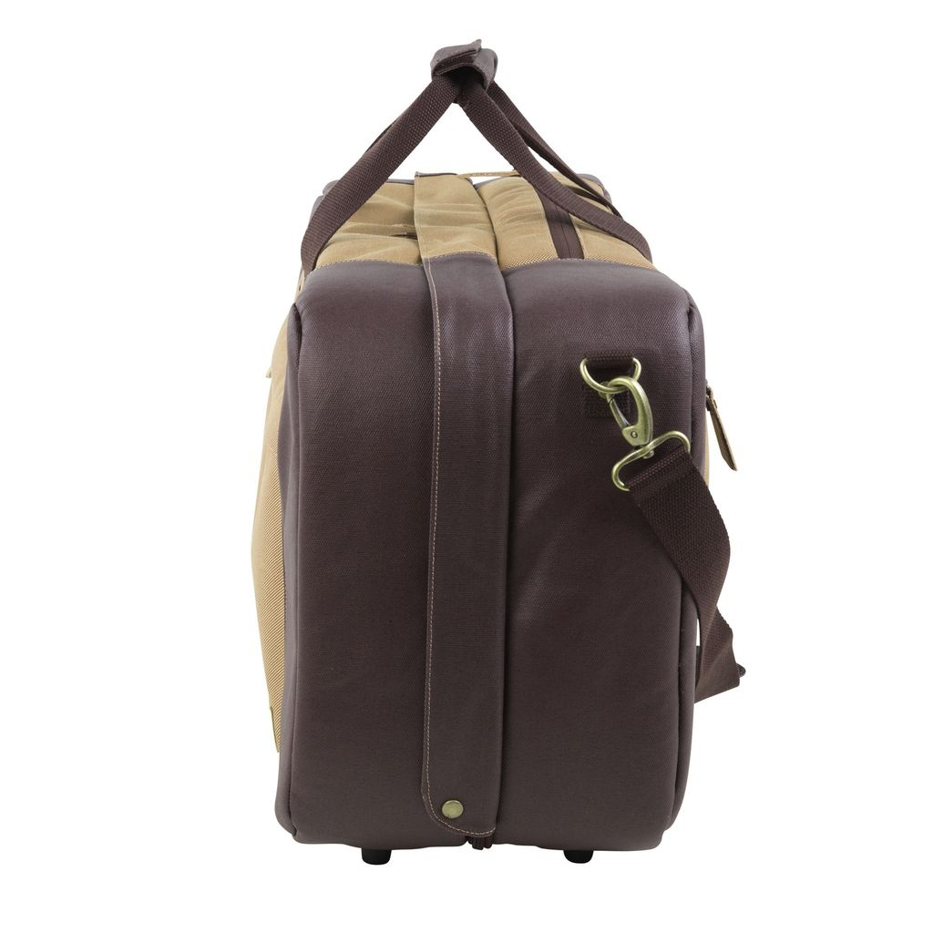 HEX HEX Alyasha Travel Duffel, Tan/Brown