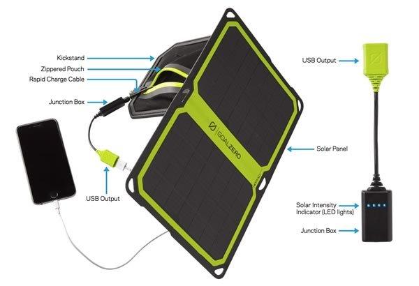 Goal Zero Goal Zero Nomad 14 Plus Solar Charger