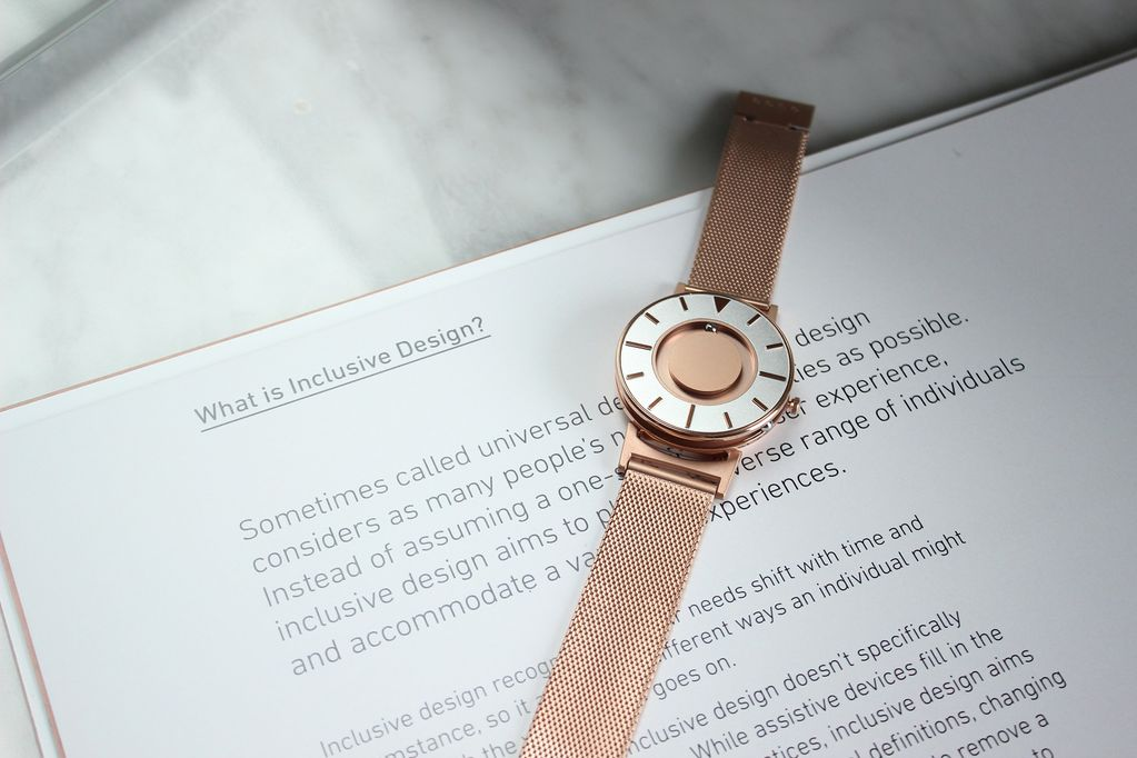 Eone Eone Watches - The Bradley Mesh // Rose Gold