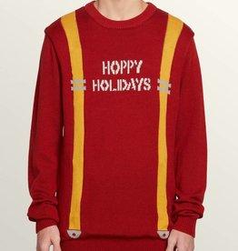 VOLCOM Suspenders Holiday Sweater