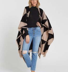 Billabong Beachy Nights Wrap Poncho Wrap