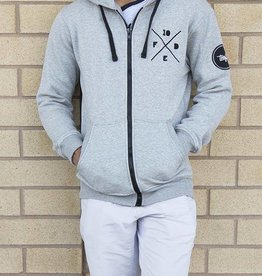 TENFED TF XFED ZIP-UP HOODIE.