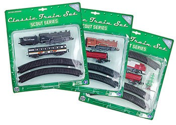WowToyz Classic Train Set, 10-pc, Assorted Styles, Carded