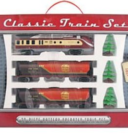 WowToyz Classic Train Set 20-pc, Assorted Styles, Boxed