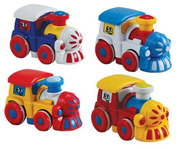 WowToyz Friction Powered Steam Locomotives Single