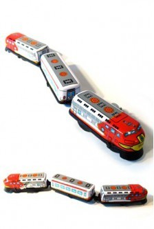 """Express Train Classic Wind Up Toy 13"""""""
