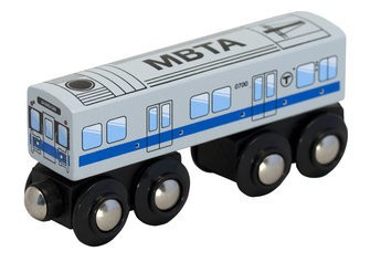MBTA Blue Line - Wooden