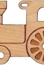 Cut out Maple Ornament Engine