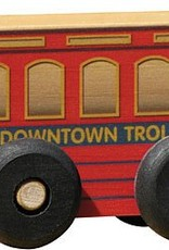 STM Customized Red Trolley Scoot