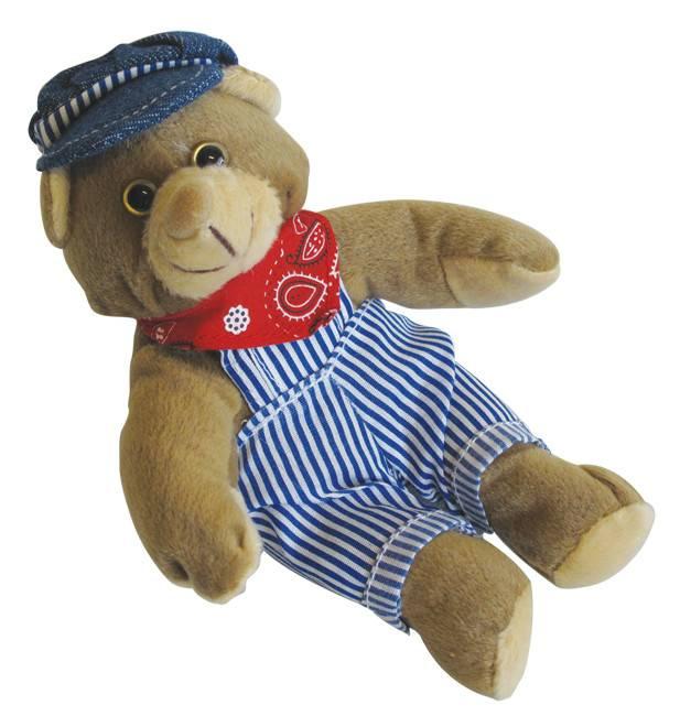 Engineer Beanie Bear