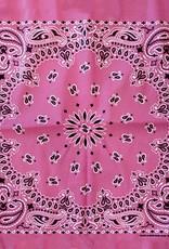 """Bandana, Pink 22"""" Square"""