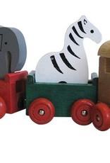 Zoo Animals Wooden Train
