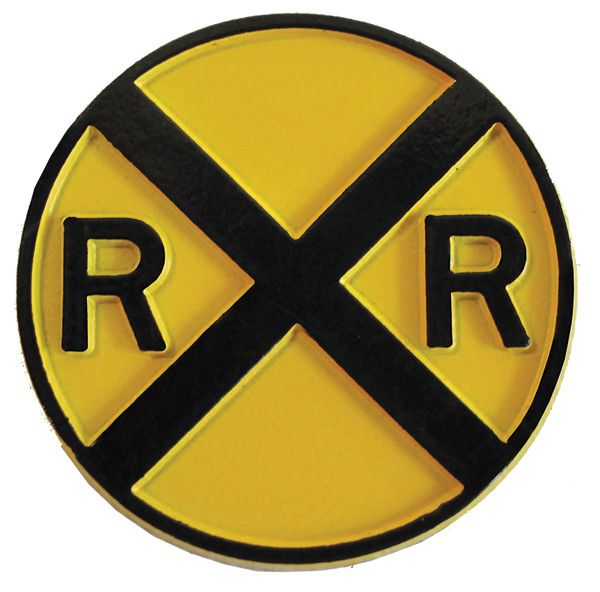 Rail Road Crossing Magnet