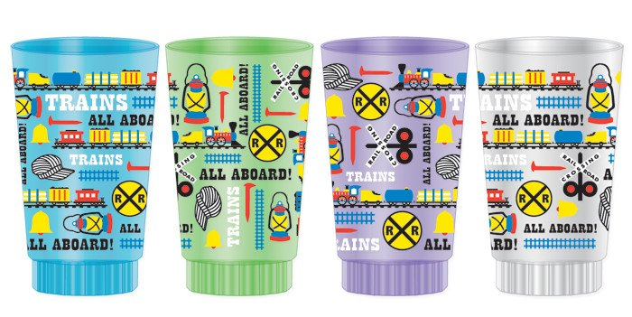 All Aboard Stacking Cup