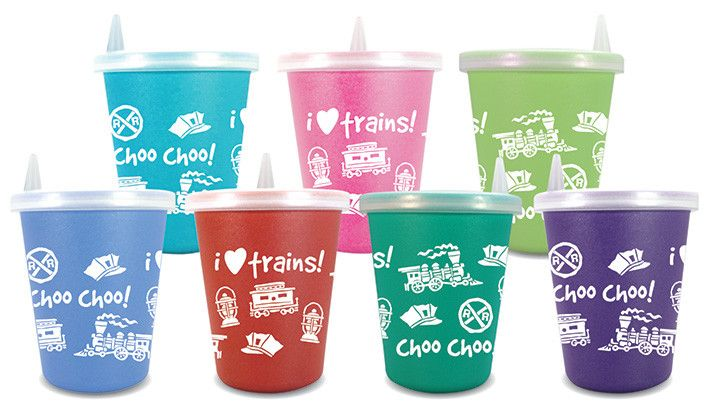 Toddler Juice Cup Trains