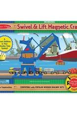 Swivel & Lift Crane Magnetic Crane