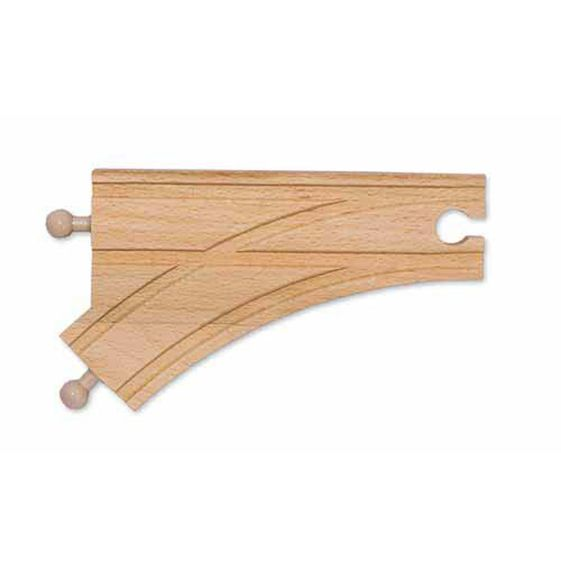 """Melissa & Doug 6"""" Curved Switch Track M """"MALE"""