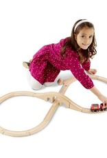 Melissa & Doug Figure Eight Train Set