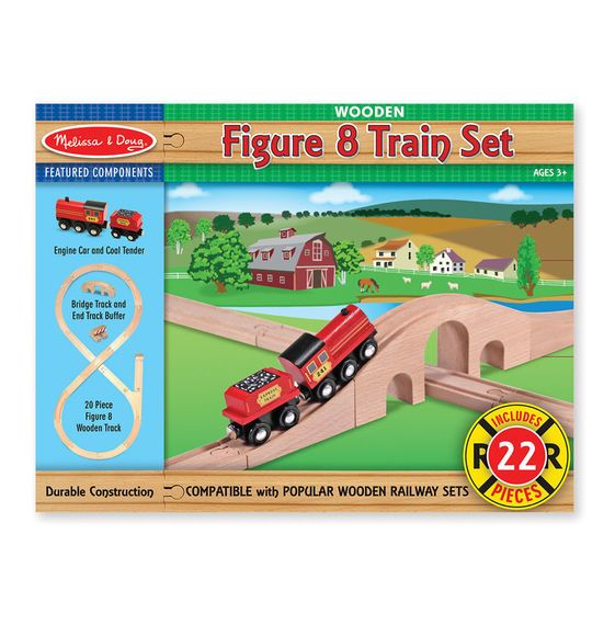 Figure Eight Train Set