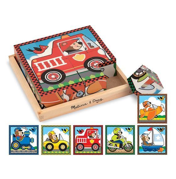 Vehicle Cube Puzzle