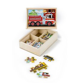 Vehicle Puzzles in a box