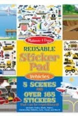 Reuseable Sticker Pad - Vehicles
