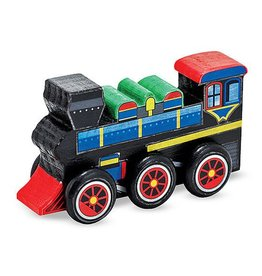 Melissa & Doug Create-a-craft Train Paint Set (Blue Box)