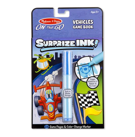 Melissa & Doug On The Go  SuprizeINK! Vehicles