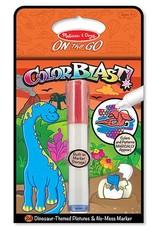 Melissa & Doug On the Go Color Blast Dinosaurs