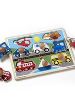 Vehicles Jumbo Knob Puzzle