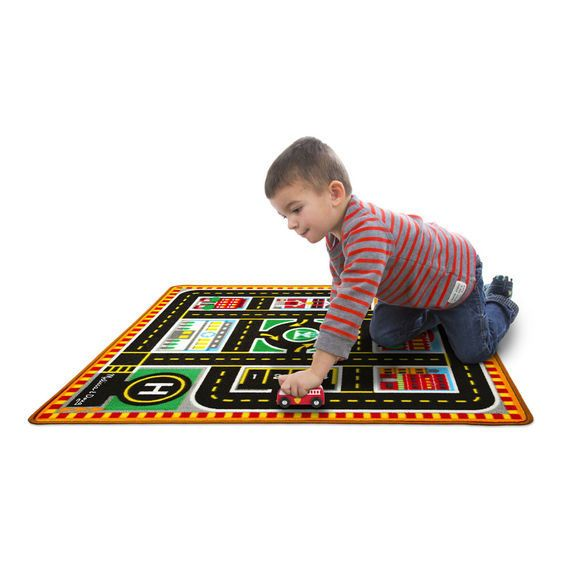 Melissa & Doug Rescue Vehicle Rug
