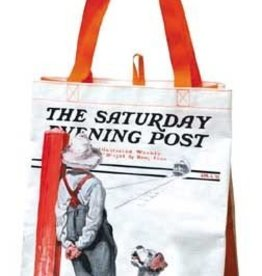 Saturday Evening Post Dog & Boy Eco Bag