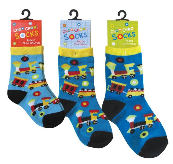 Socks Youth Choo Choo 2-4