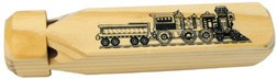 Multi-Tone Wooden Train Whistle