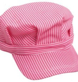 Child Pink Engineer Hat STM Logo