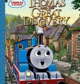 Thomas and the Great Discovery (Little Golden Book)