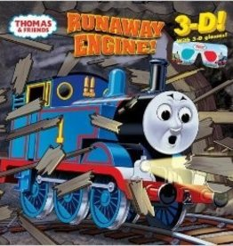 Thomas Runaway Engine 3-D Children's Book