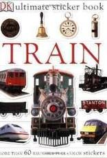 Ultimate Sticker Book: Train (DK Ultimate Sticker Books)