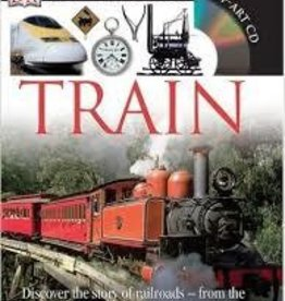 TRAIN Eyewitness DK Book with CD