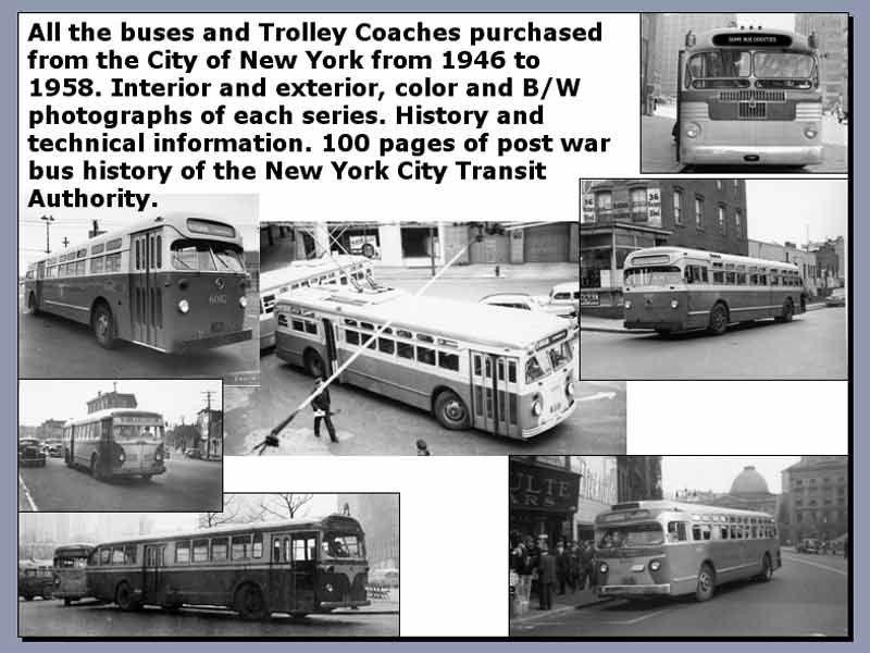 New York City Transit Systems Bus & Trolley Coach Fleet
