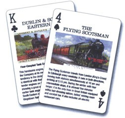 Vintage Railroad Cards