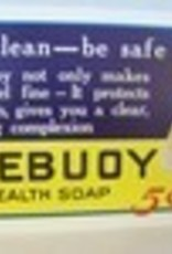 "Lifebouy Soap ""Feel Clean - Be Safe"