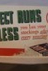 """LUX Soap Flakes """"Expect Runs in Your Stockings"""