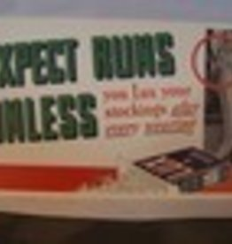 "LUX Soap Flakes ""Expect Runs in Your Stockings"