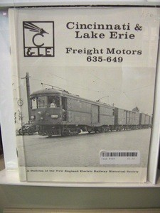 Cincinnati & Lake Erie Freight Motor 648